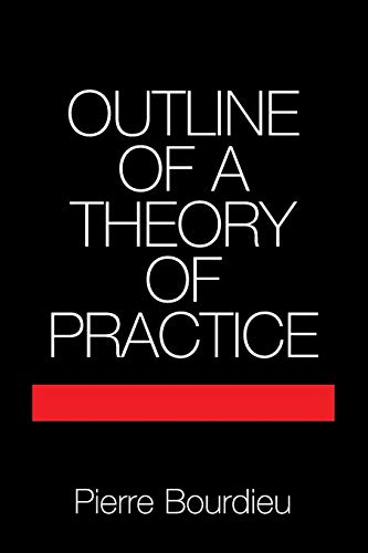 9780521291644: Outline of a Theory of Practice Paperback (Cambridge Studies in Social and Cultural Anthropology)