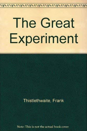 9780521292245: The Great Experiment
