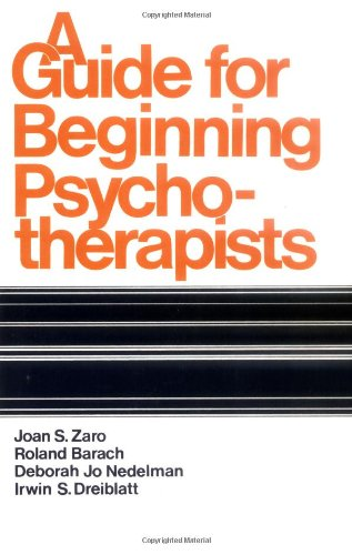 9780521292306: A Guide for Beginning Psychotherapists