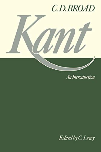Kant. An Introduction.: Broad, C D