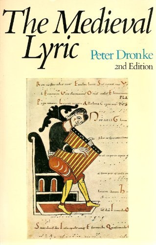 9780521293198: The Medieval Lyric