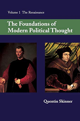 9780521293372: The Foundations of Modern Political Thought, Vol. 1: The Renaissance