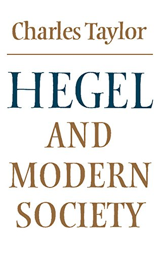 9780521293518: Hegel and Modern Society (Modern European Philosophy)