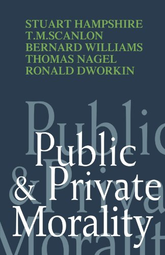 9780521293525: Public and Private Morality