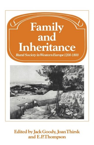 9780521293549: Family and Inheritance: Rural Society in Western Europe, 1200-1800 (Past and Present Publications)