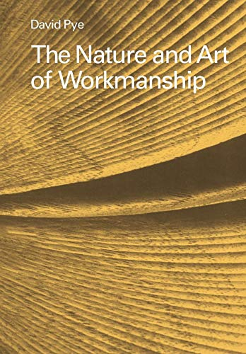 9780521293563: The Nature and Art of Workmanship