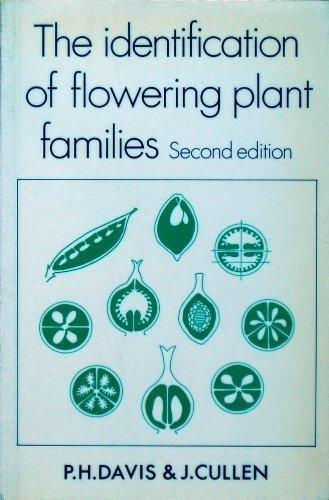 Identification of Flowering Plant Families: Peter Davis, J.