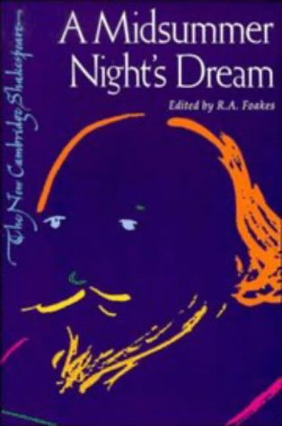 9780521293891: A Midsummer Night's Dream (The New Cambridge Shakespeare)