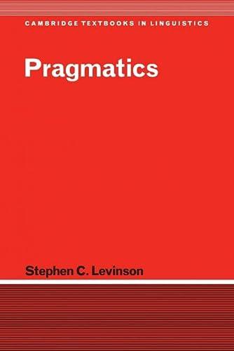 9780521294140: Pragmatics