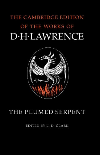 9780521294225: The Plumed Serpent (The Cambridge Edition of the Works of D. H. Lawrence)