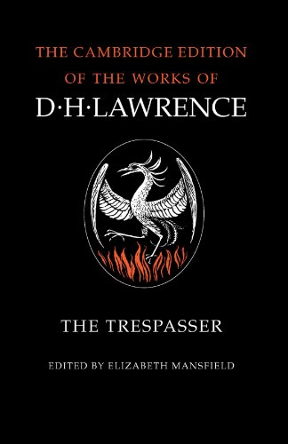 9780521294249: The Trespasser (The Cambridge Edition of the Works of D. H. Lawrence)