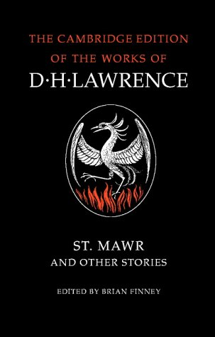 9780521294256: St Mawr and Other Stories (The Cambridge Edition of the Works of D. H. Lawrence)