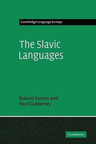 9780521294485: The Slavic Languages (Cambridge Language Surveys)