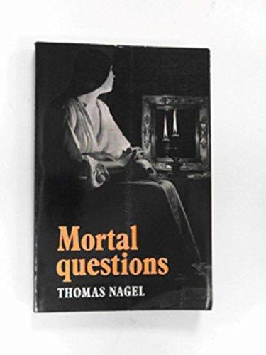 9780521294607: Mortal Questions