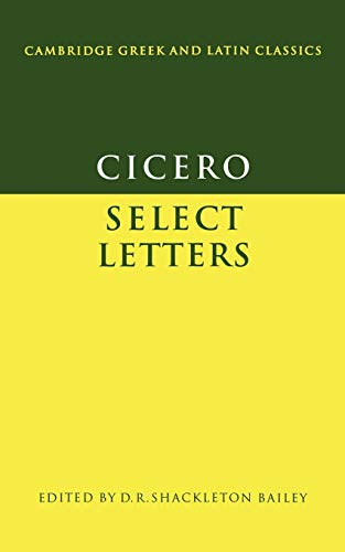 9780521295246: Cicero: Select Letters