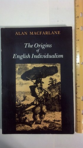 9780521295703: The Origins of English Individualism