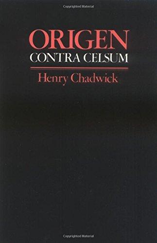 Origen: Contra Celsum Paperback: Origen/Chadwick