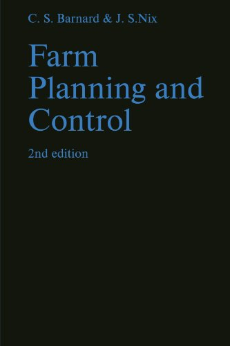9780521296045: Farm Planning and Control