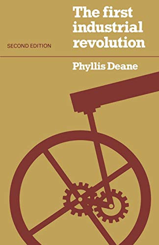 9780521296090: The First Industrial Revolution