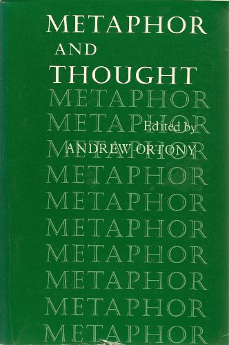 9780521296267: Metaphor and Thought