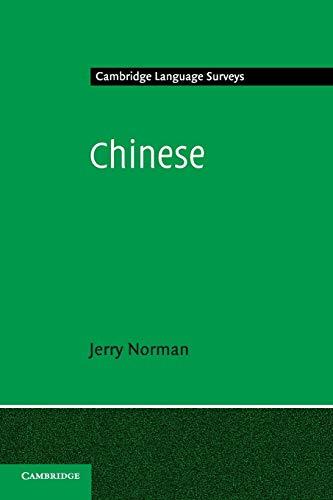 9780521296533: Chinese Paperback (Cambridge Language Surveys)