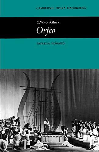 9780521296649: C. W. von Gluck: Orfeo Paperback (Cambridge Opera Handbooks)