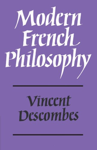 9780521296724: Modern French Philosophy