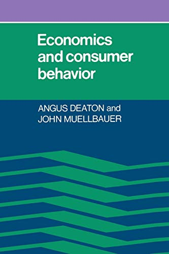 9780521296762: Economics and Consumer Behavior
