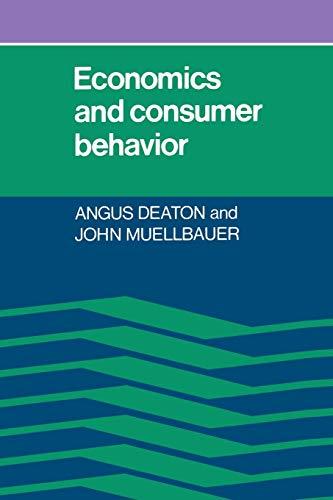 9780521296762: Economics and Consumer Behavior Paperback