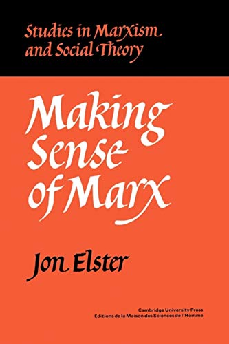 9780521297059: Making Sense of Marx Paperback (Studies in Marxism and Social Theory)