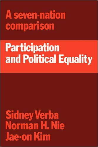 9780521297219: Participation and Political Equality: A Seven-Nation Comparison