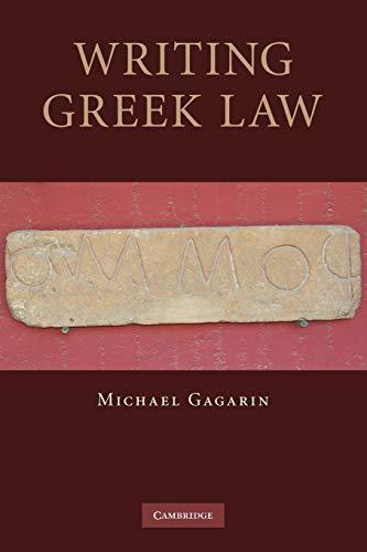 9780521297288: Writing Greek Law