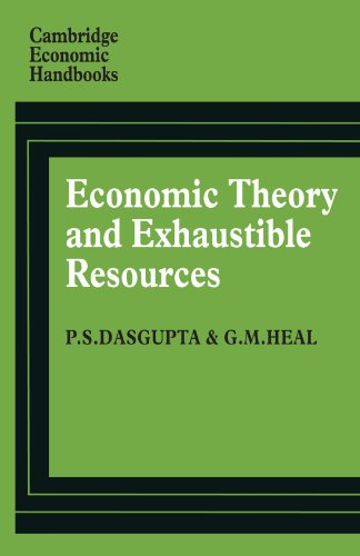 9780521297615: Economic Theory and Exhaustible Resources (Cambridge Economic Handbooks)