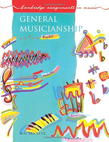 9780521298131: General Musicianship (Cambridge Assignments in Music)