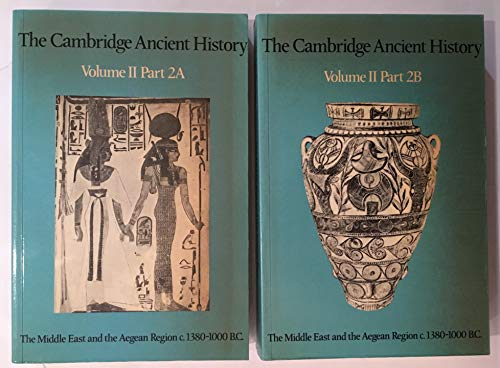 9780521298247: The Cambridge Ancient History: Volume 2, Part 2, The Middle East and the Aegean Region c.1380-1000 BC