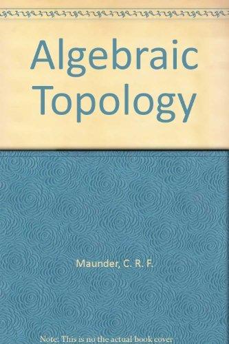 9780521298407: Algebraic Topology