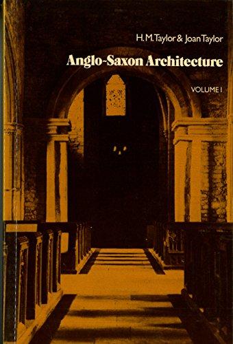 9780521299145: Anglo-Saxon Architecture 2 Volume Set (Boxed Set) (v. 1 & 2)