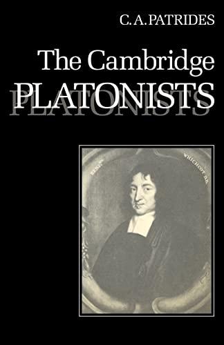 9780521299428: The Cambridge Platonists