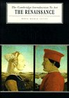 9780521299572: The Renaissance (Cambridge Introduction to the History of Art)