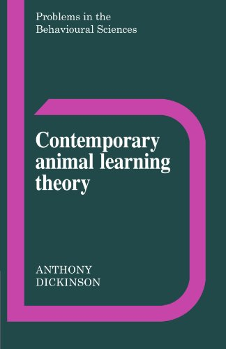 9780521299626: Contemporary Animal Learning Theory (Problems in the Behavioural Sciences)
