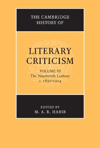9780521300117: The Cambridge History of Literary Criticism: Volume 6, The Nineteenth Century, c.1830-1914