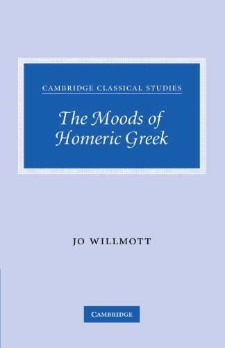 9780521300551: The Moods of Homeric Greek (Cambridge Classical Studies)