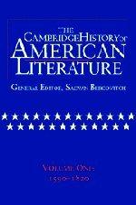 9780521301053: 001: The Cambridge History of American Literature: Volume 1, 1590-1820 Hardback: 1590-1820 v. 1