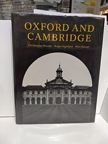 9780521301398: Oxford and Cambridge
