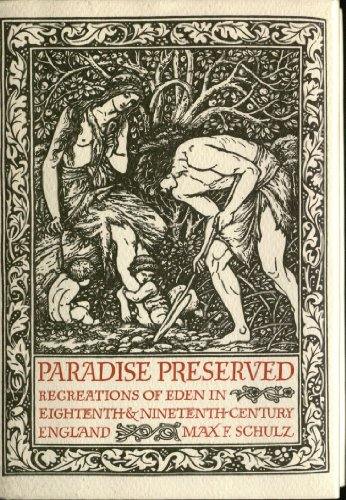9780521301732: Paradise Preserved: Recreations in Eden in Eighteenth- and Nineteenth-Century England