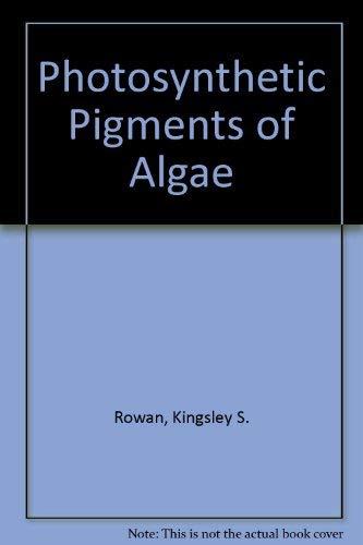 9780521301763: Photosynthetic Pigments of Algae