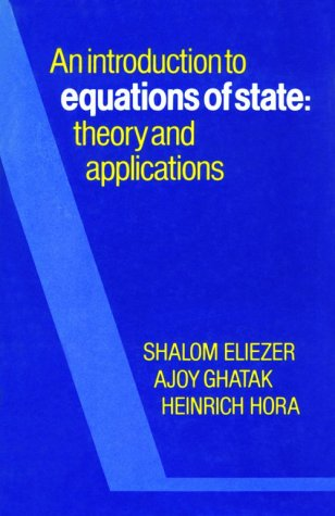 9780521303897: An Introduction to Equations of State: Theory and Applications