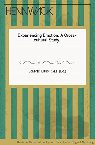 9780521304276: Experiencing Emotion: A Cross-Cultural Study (European Monographs in Social Psychology)