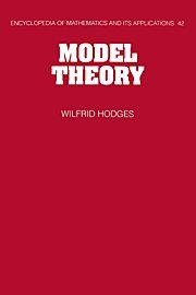 9780521304429: Model Theory Hardback (Encyclopedia of Mathematics and its Applications)