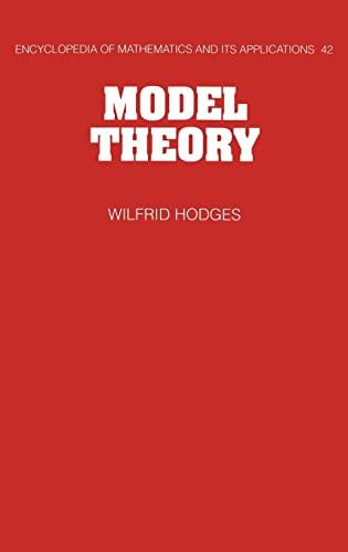 9780521304429: Model Theory